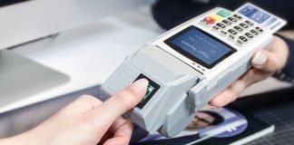 biometric payment card integrating T-Shape