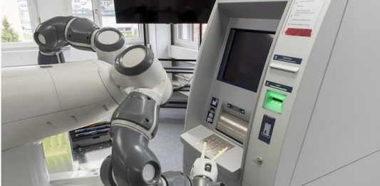 ABBs YuMi robot for more reliable banking