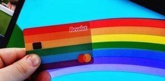 rainbow bank card