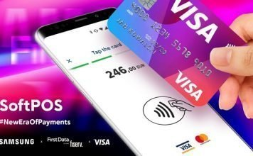 First Data, Visa and Samsung unveil SoftPOS contactless payment solution